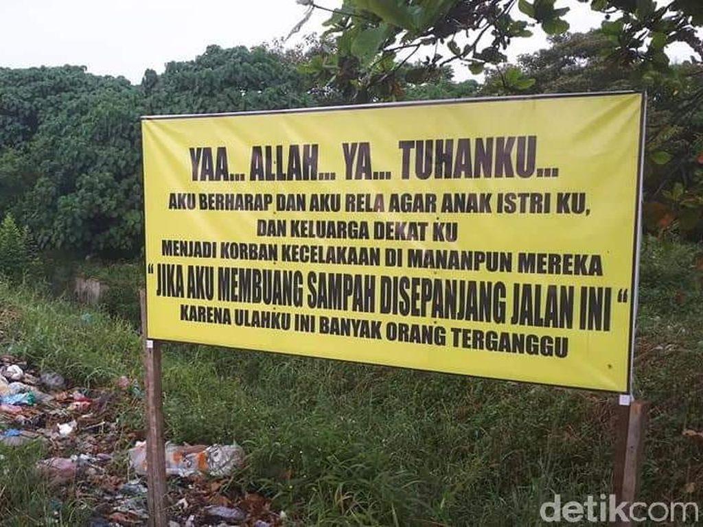 Potret Sampah di Jalanan Pekanbaru yang Sempat Dibersihkan Gubernur Riau