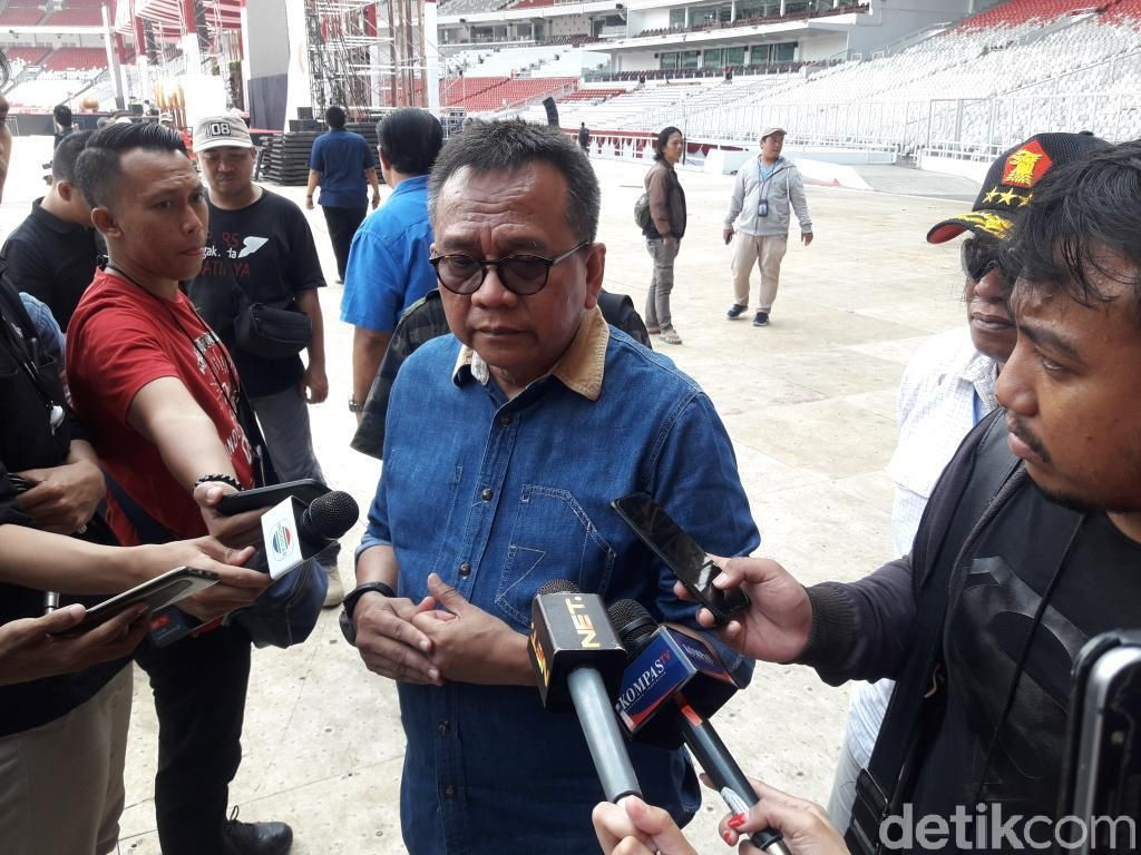 Perkiraan M Taufik: Kampanye Prabowo di GBK Dihadiri 1 sampai 7 Juta Massa