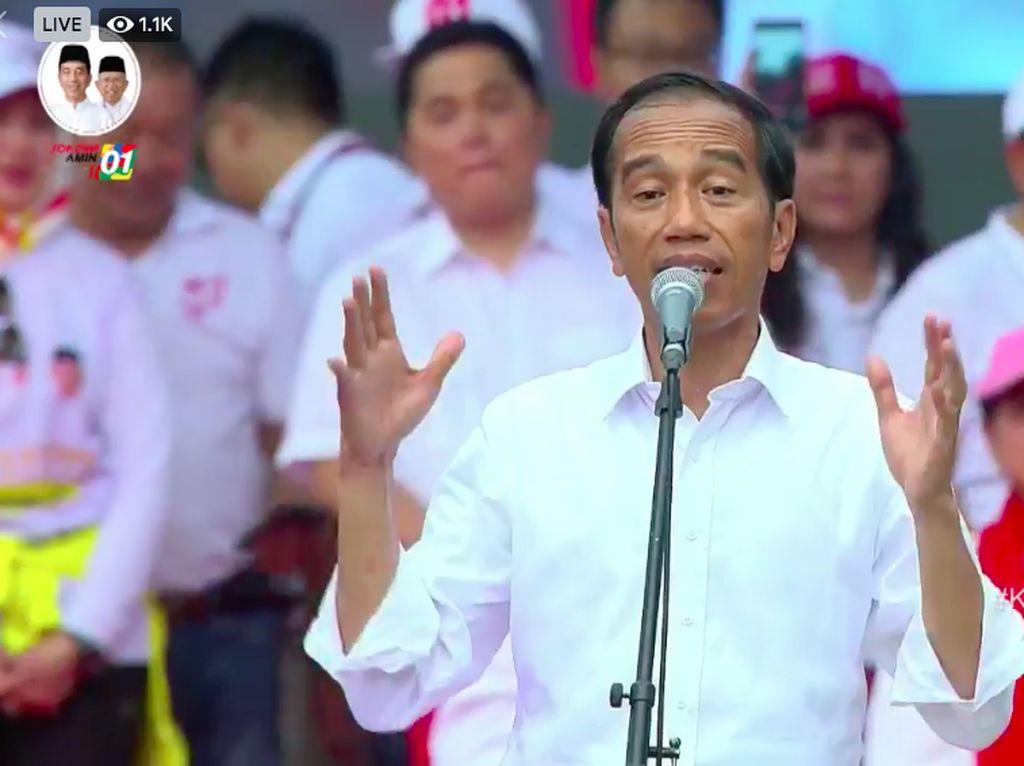 Jokowi: Kalau Ada Tetangga Goyah Karena Hoax, Tolong Diluruskan