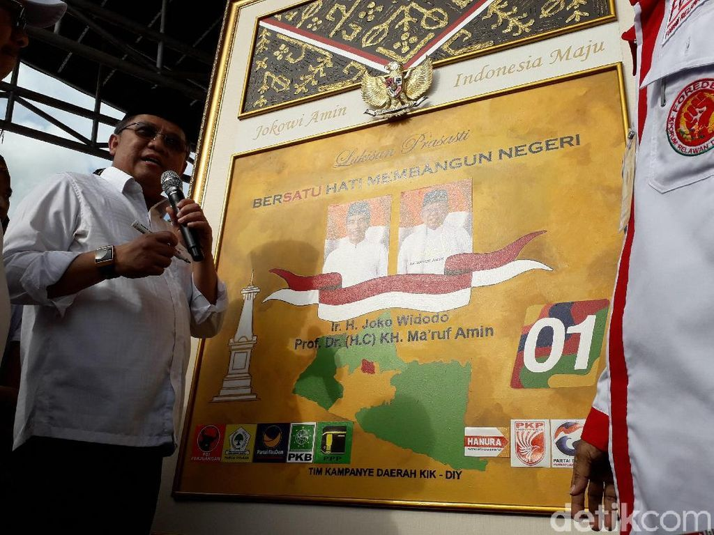 Jadi Jurkam, Rudiantara Pamerkan Kartu Sakti Jokowi