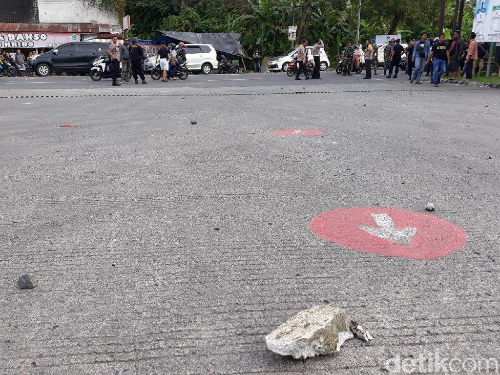 Pasca Kericuhan, Situasi di Jalan Wates, Sleman Kembali Normal
