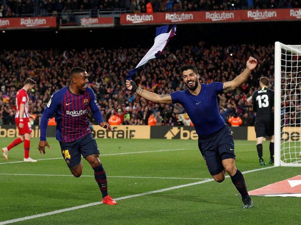 Barcelona Pukul Atletico Madrid 2-0