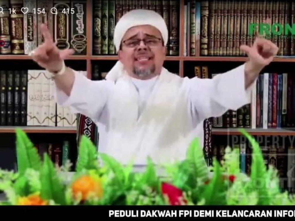 Pulangkan Habib Rizieq Jadi Syarat Rekonsiliasi, PDIP: Aneh!