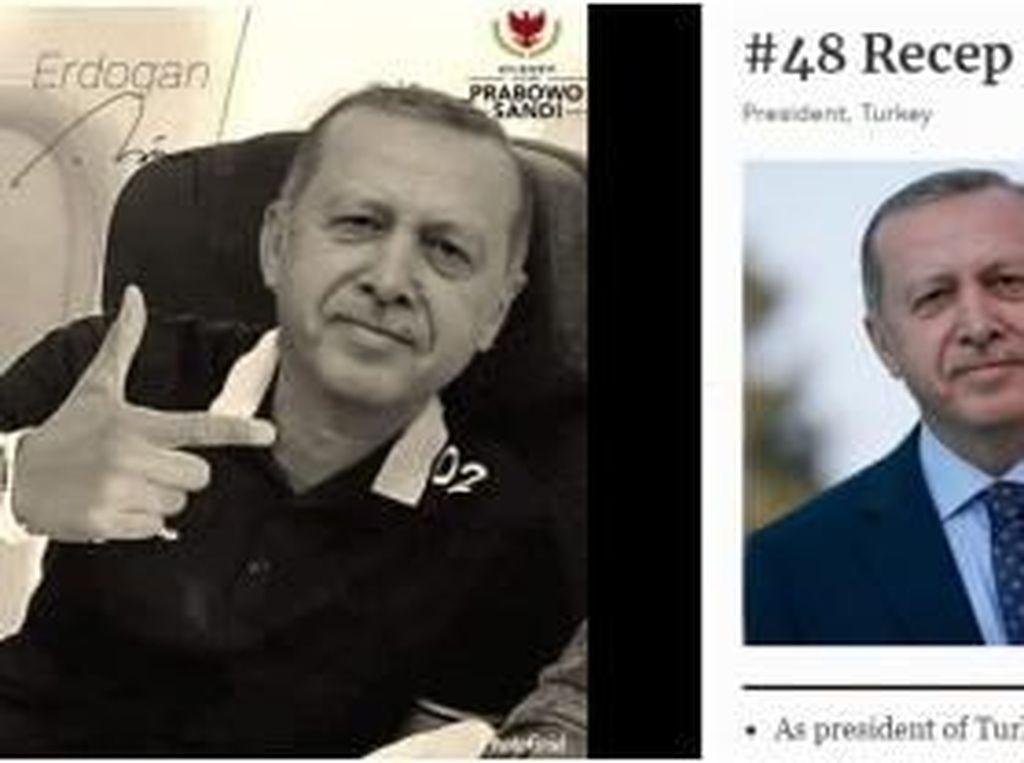 Hoax Pilpres RI Senggol Presiden Turki
