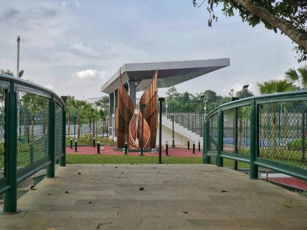 Resmi Dibuka, Tengok Kerennya Alun-alun Kota Depok Yuk!