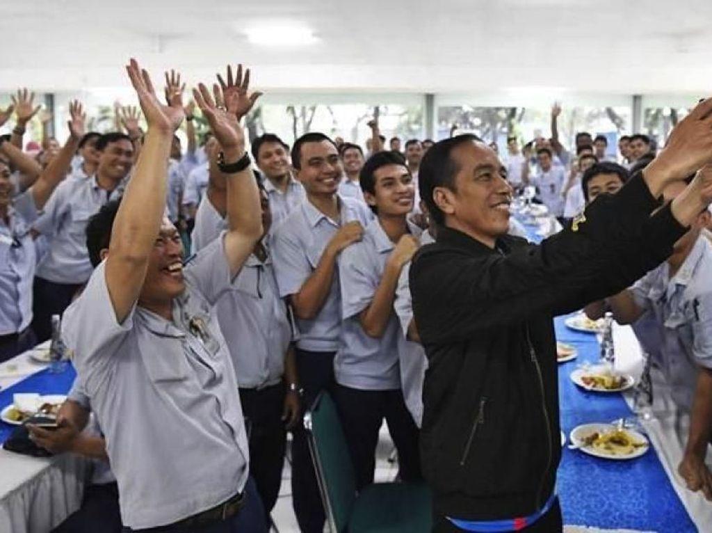 Jokowi Dekat dengan Buruh