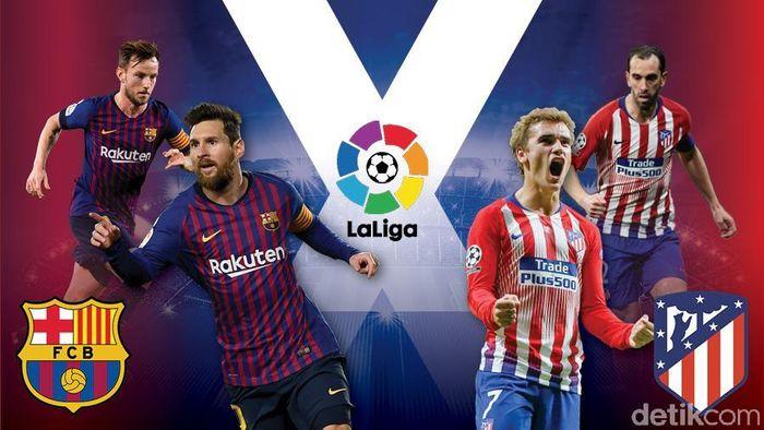 Barcelona 2-0 Atletico Madrid