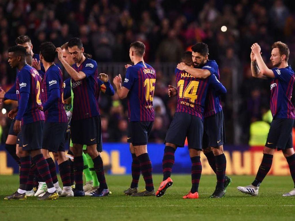 Klasemen Liga Spanyol: Barca Kian Nyaman di Puncak, Madrid Bayangi Atletico
