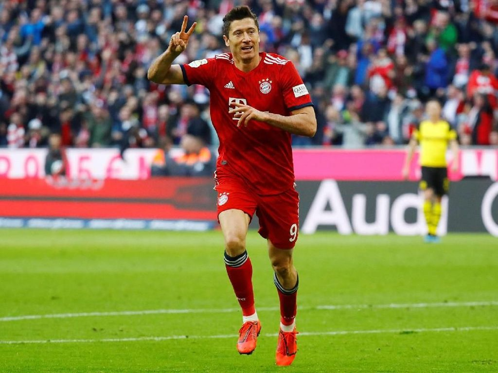 Bayern Munich Terlalu Tangguh untuk Dortmund