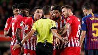 Diego Costa Dikartu Merah, Simeone: Pemain-Pemain Barca Juga Hina Wasit