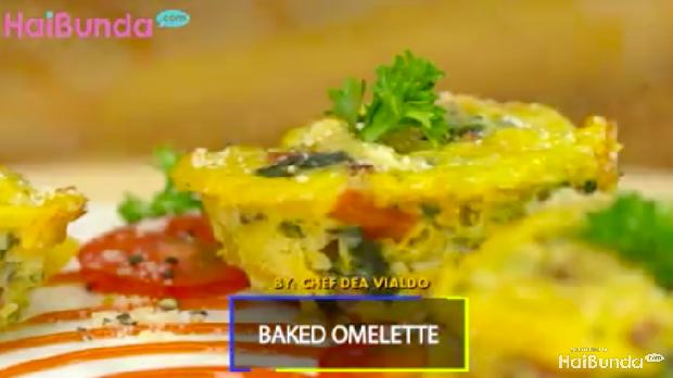 Baked omelette/