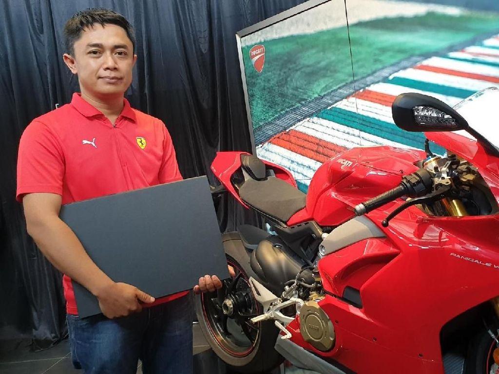 Ini Dia Pemilik Ducati Panigale V4S Pertama di Indonesia