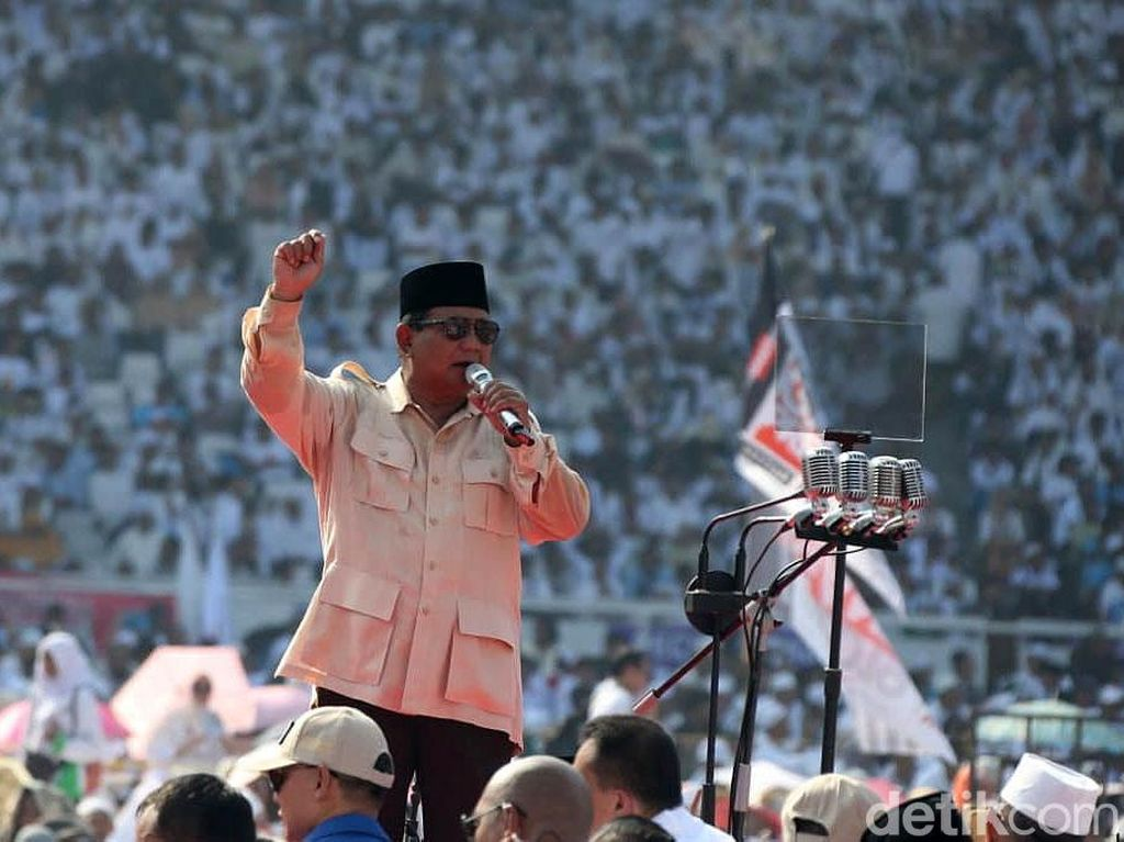 Tantangan RI versi Prabowo: Anggaran Bocor hingga DKI Tenggelam