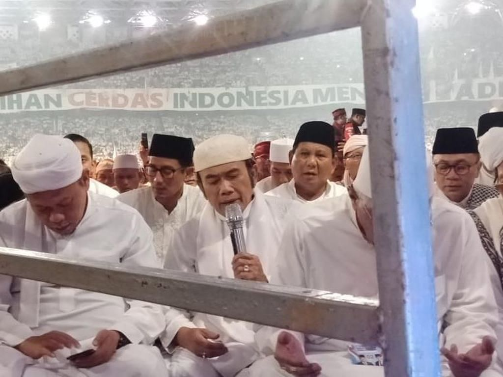 Ketua FUIB Ajak Massa Kampanye Akbar Prabowo Putihkan TPS
