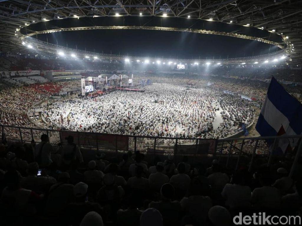 Dinas LH DKI: Kampanye Akbar Prabowo-Sandi Hasilkan 72 Ton Sampah