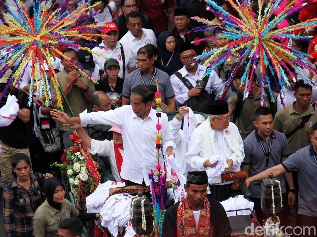 Jokowi-Maruf Tanpa Sekat di Pamungkas Debat