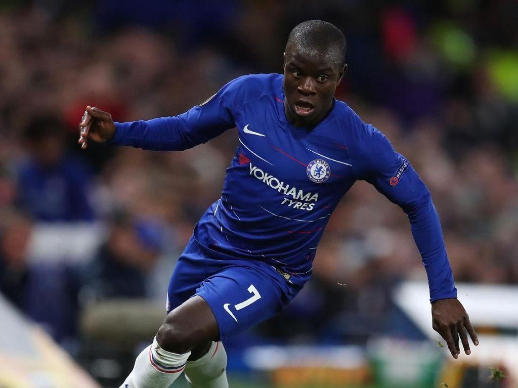 Chelsea Kemungkinan Tanpa Kante Saat Hadapi Tottenham