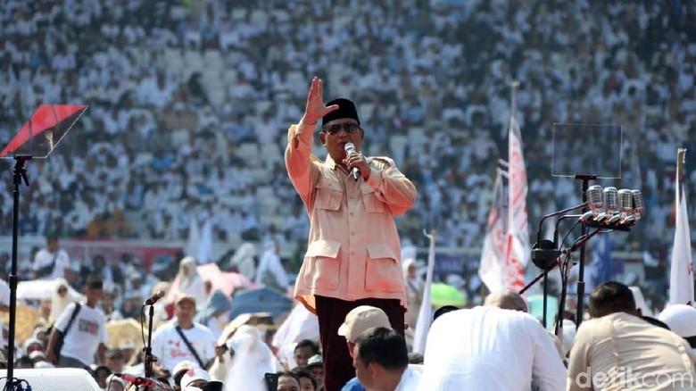 Prabowo Kenalkan 'Calon Menteri': Gatot Nurmantyo, Rocky Gerung, hingga Fahri