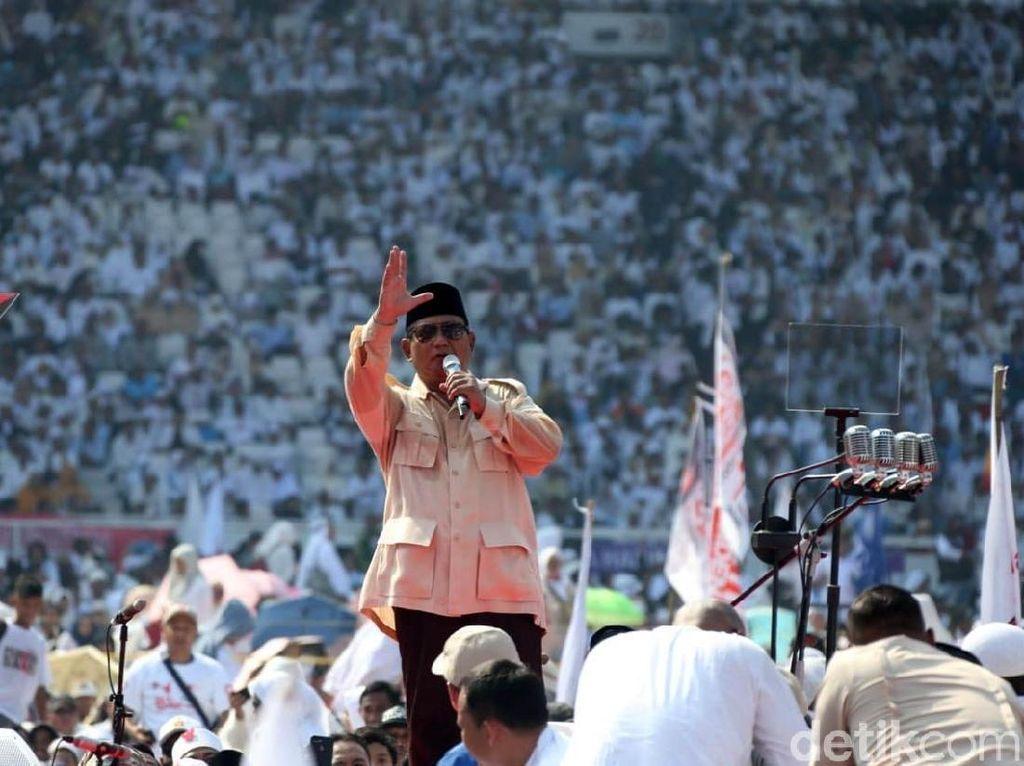 Klaim BPN vs Hitungan TKN Soal Sejuta Peserta Kampanye Prabowo
