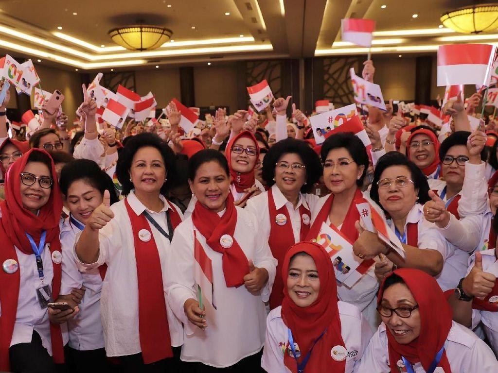 Srikandi Nusantara Bersatu Dukung Jokowi-Maruf Amin