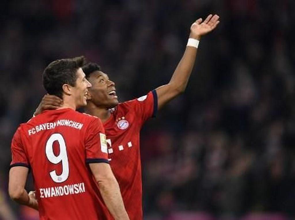 Bayern Munich vs Dortmund: Rekor Lewandowski dalam Pesta Gol Die Roten