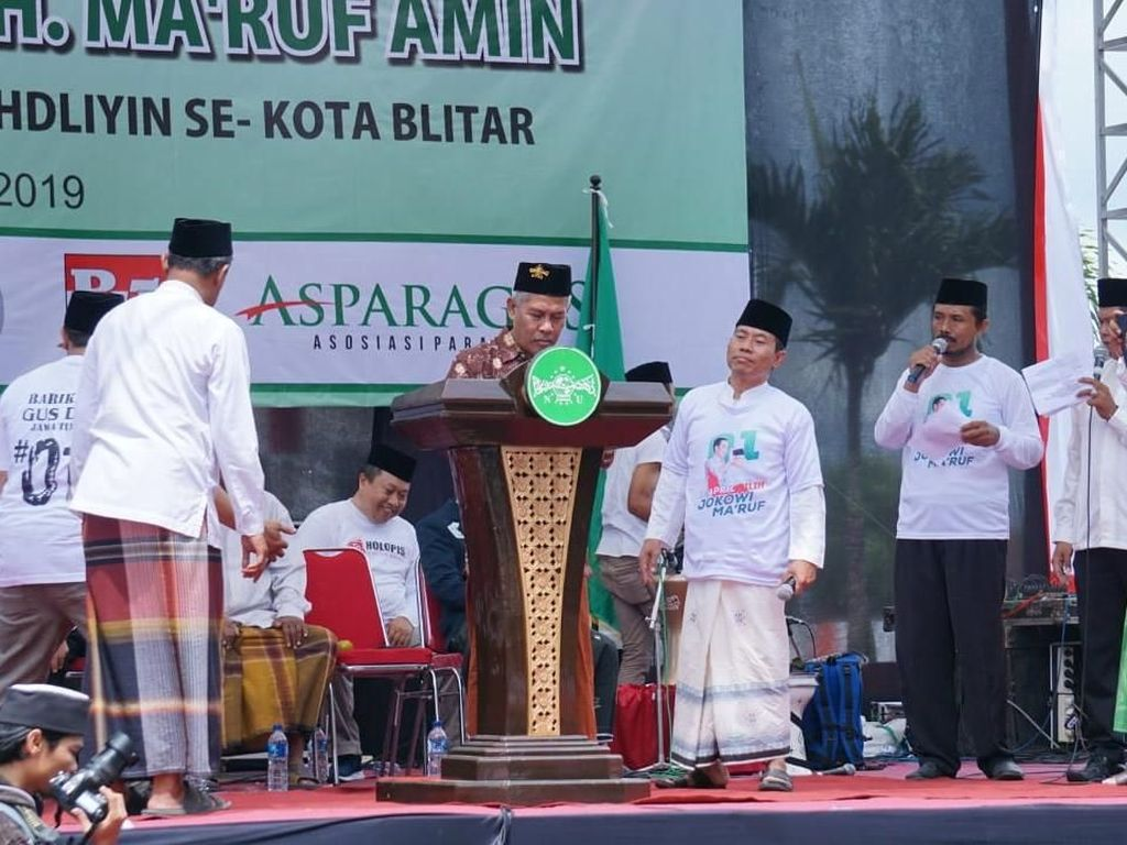PWNU Jatim: Tak Dukung Jokowi, Orang NU Goblok
