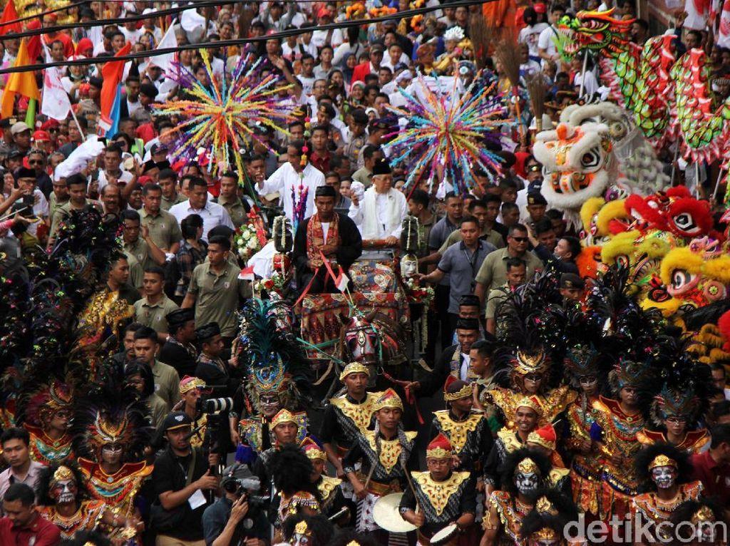 Dibagi 3 Ring, Kampanye Akbar Jokowi Akhir Pekan Ini Sajikan Festival Rakyat