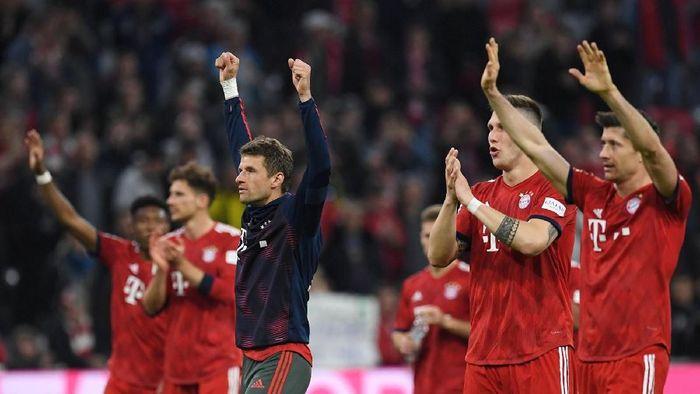 Bayern Munich selangkah lagi menyegel gelar juara Liga Jerman (Foto: Reuters)