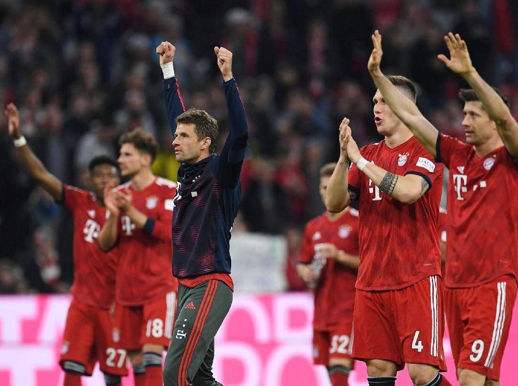 Masa Bodoh dengan Dortmund, Bayern Cuma Fokus Kalahkan Frankfurt