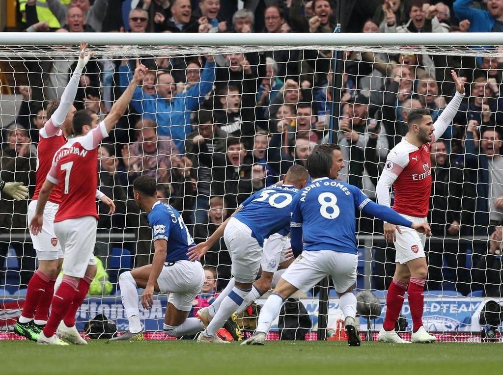 Babak I: Arsenal Tertinggal 0-1 dari Everton