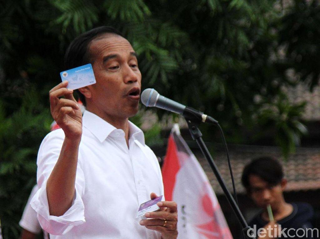 Punya 3 Kartu Sakti, Jokowi: Dikeluarkan Tahun Depan