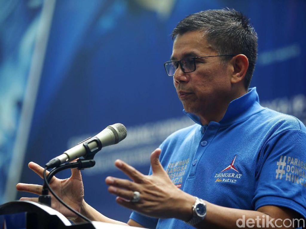Hasto Sebut Kampanye Prabowo Jauh dari Harapan SBY, PD Minta Tak Ada Adu Domba