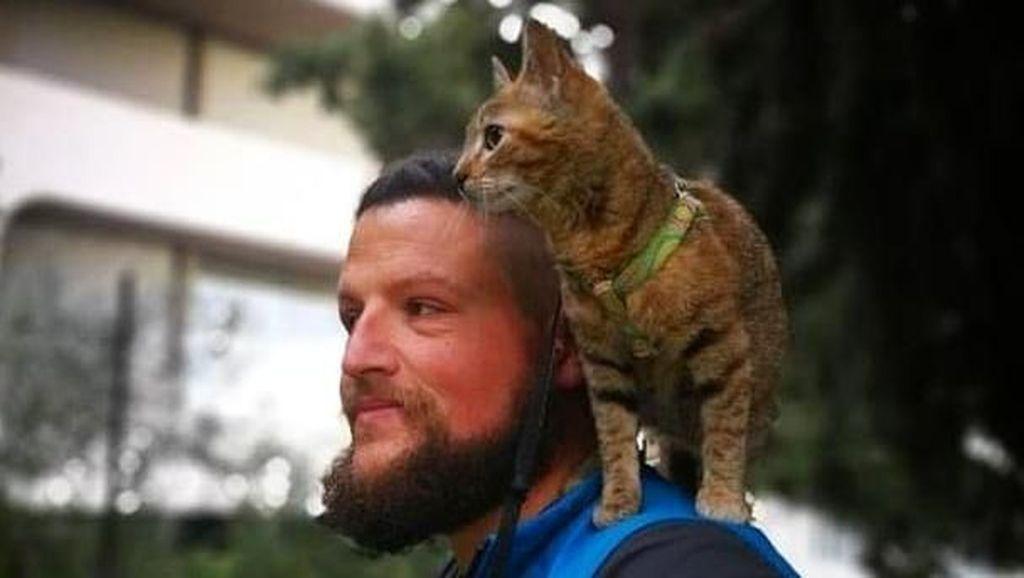 Foto Viral di Instagram, Turis Keliling Dunia dengan Kucing