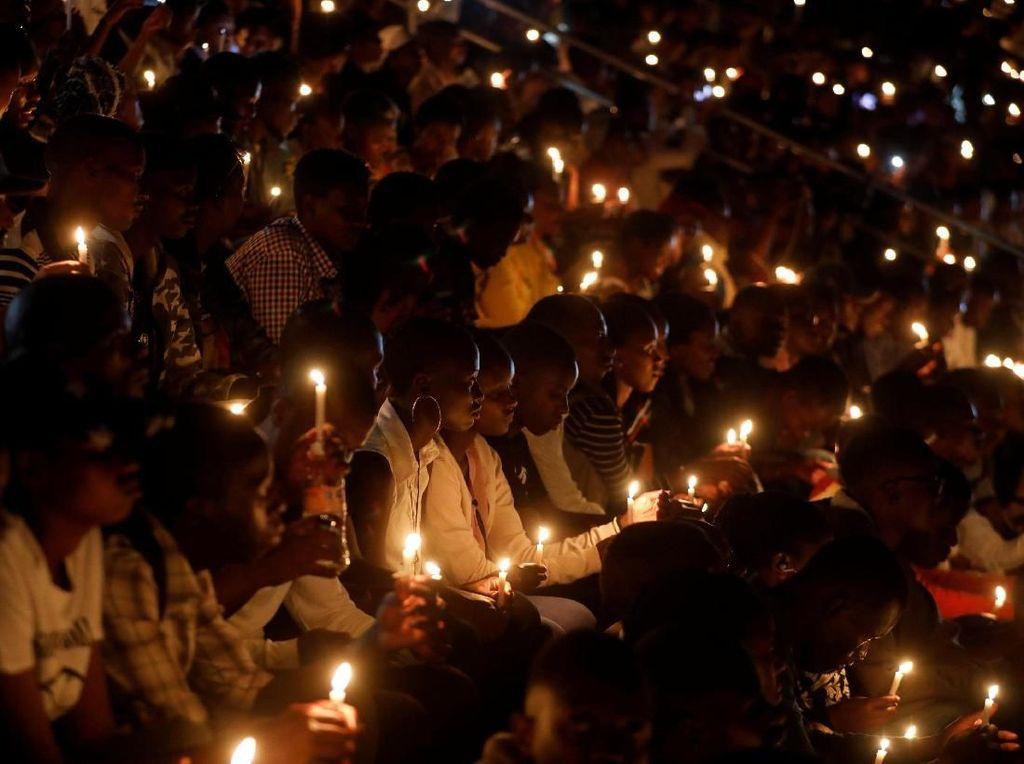 Presiden Rwanda Pimpin Upacara Peringatan 25 Tahun Genosida