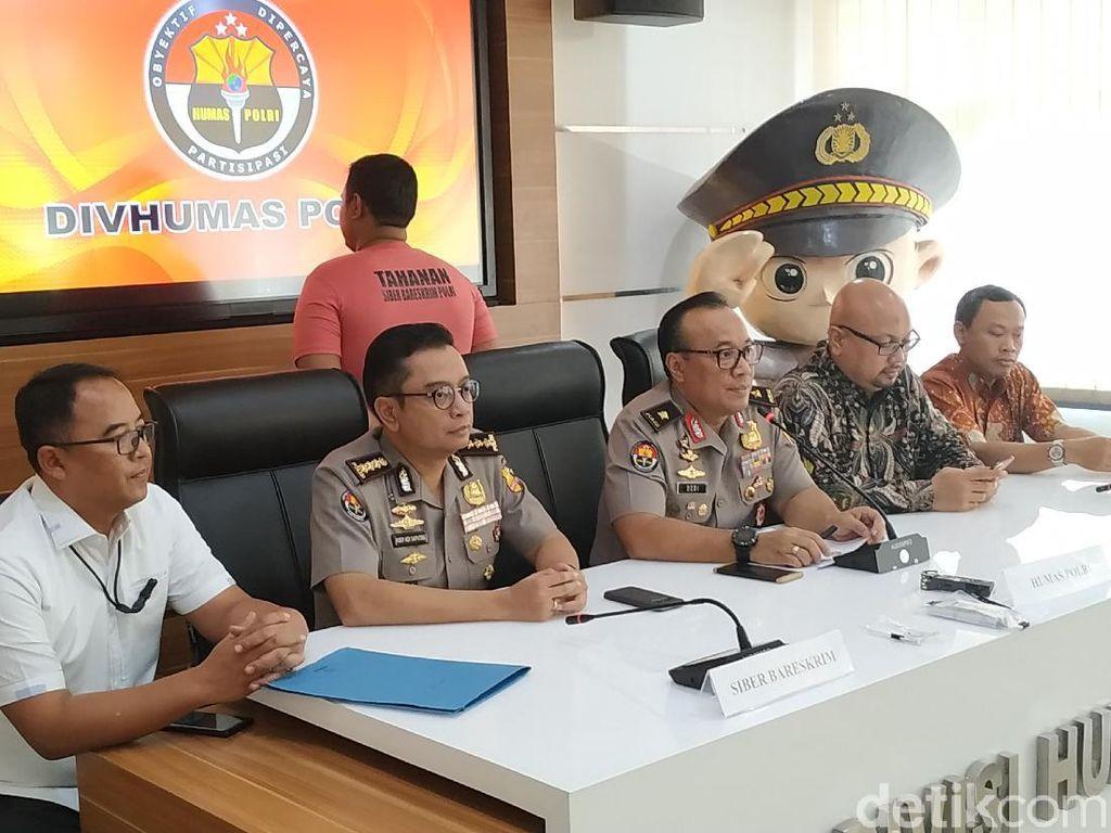 Polisi Tangkap 2 Buzzer Hoax Server KPU Di-setting Menangkan Jokowi