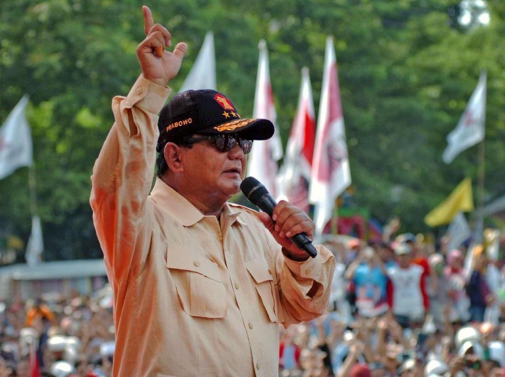 Jika Menang, Prabowo akan Bereskan Utang Garuda Indonesia