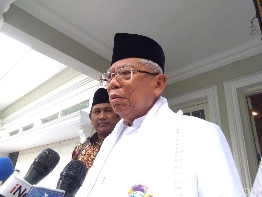 Maruf Yakin Jokowi akan Ungguli Prabowo di Debat Kelima