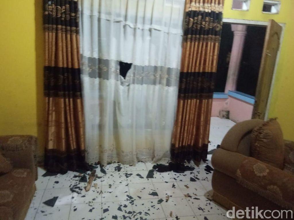 Anggota Brimob Rusak Rumah Nenek di Kendari karena Kejar Preman