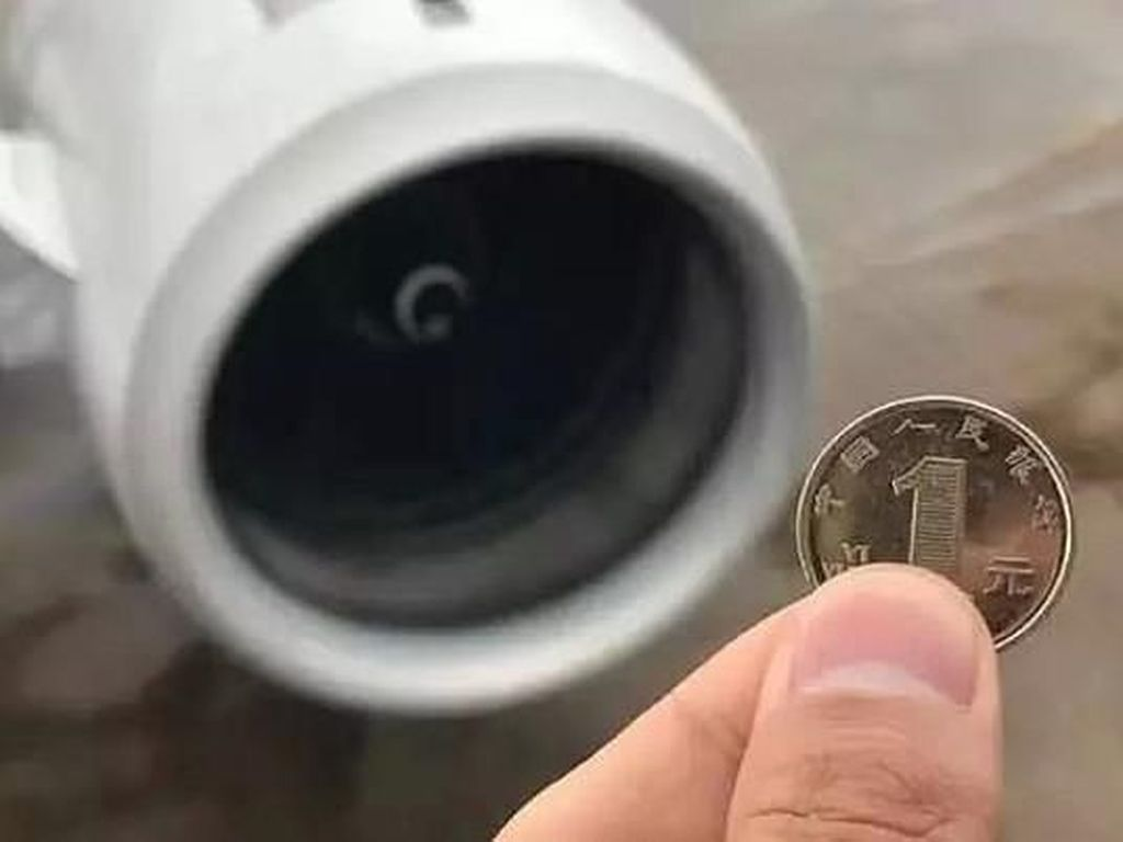 Bandara di China Larang Penumpang Lempar Koin Sebelum Naik Pesawat