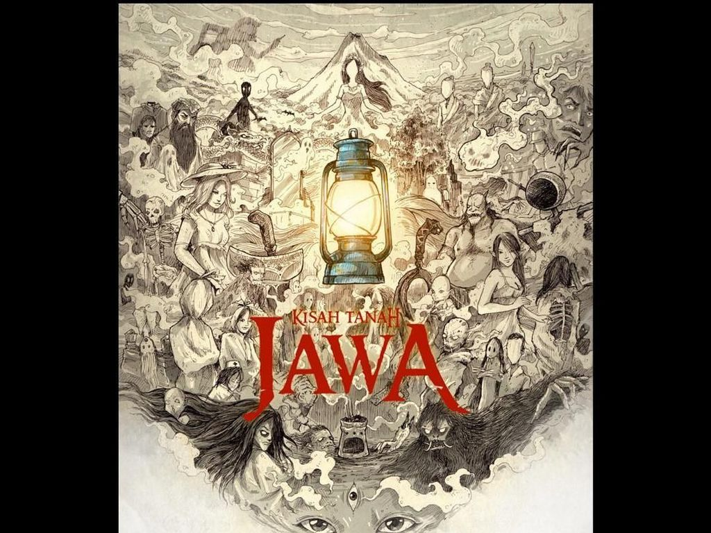Baru Dibuka Pre Order, Buku ke-2 Kisah Tanah Jawa Terjual 1.000 Eksemplar