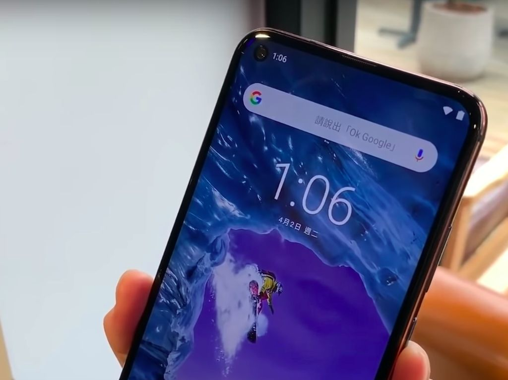 Melihat X71, Nokia Pertama dengan Lubang Kamera