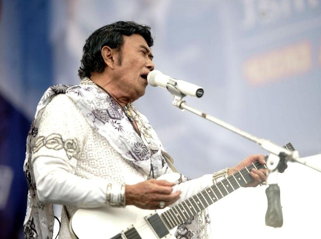 Rhoma Irama Buka Suara Soal Penolakan Konsernya di Bogor