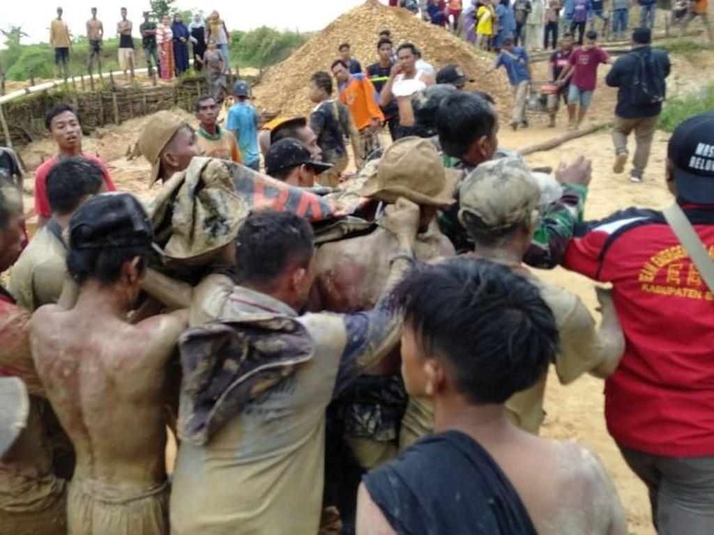 2 Orang Tewas Akibat Longsor di Banjar Kalsel