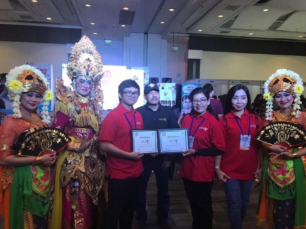 Tampilkan Kapal Pinisi, Wonderful Indonesia Diganjar Dua Penghargaan