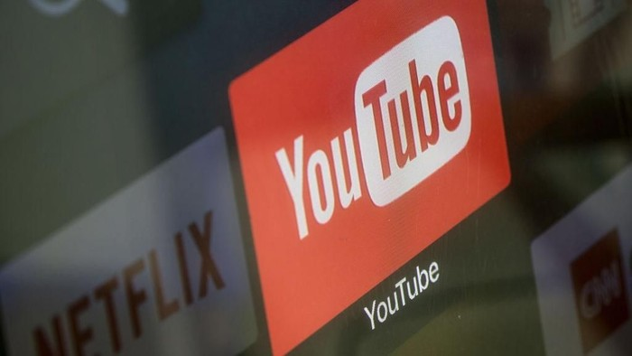 Logo YouTube. Foto: Getty Images