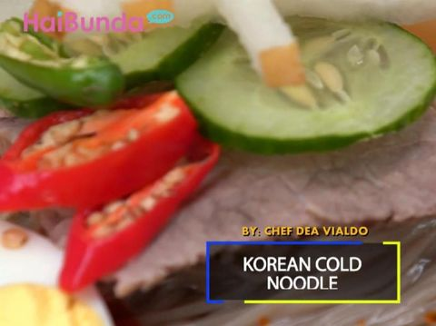 Korean Cold Noodle/