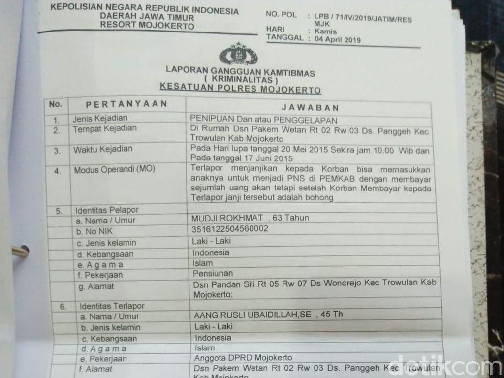 Penyelidikan Kasus Penipuan Rekrutmen PNS di Mojokerto Kembali Bergulir