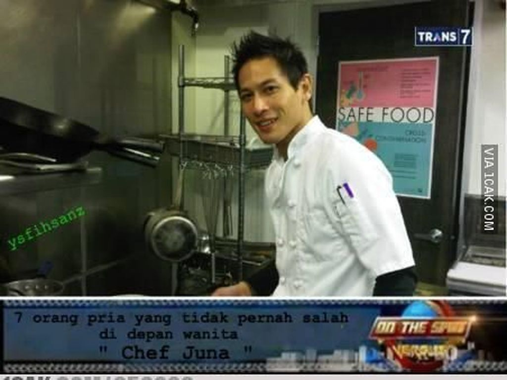 Meme Chef Juna yang Kocak hingga Kucing Mirip Singa Doyan Makan