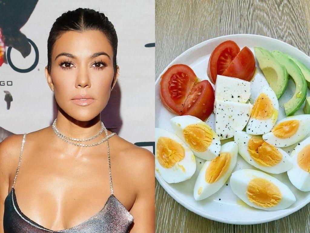 Mau Coba? Salad Telur dan Sayur Racikan Kourtney Kardashian