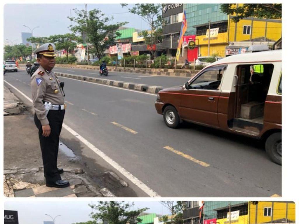 Perempuan Tewas di Jalan Margonda Terpental dari Motor Sejauh 30 Meter